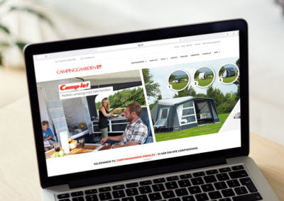 Camping gaarden ormslev website