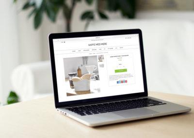 Design af webshop