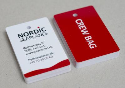 Bagagekort til Nordicseaplanes