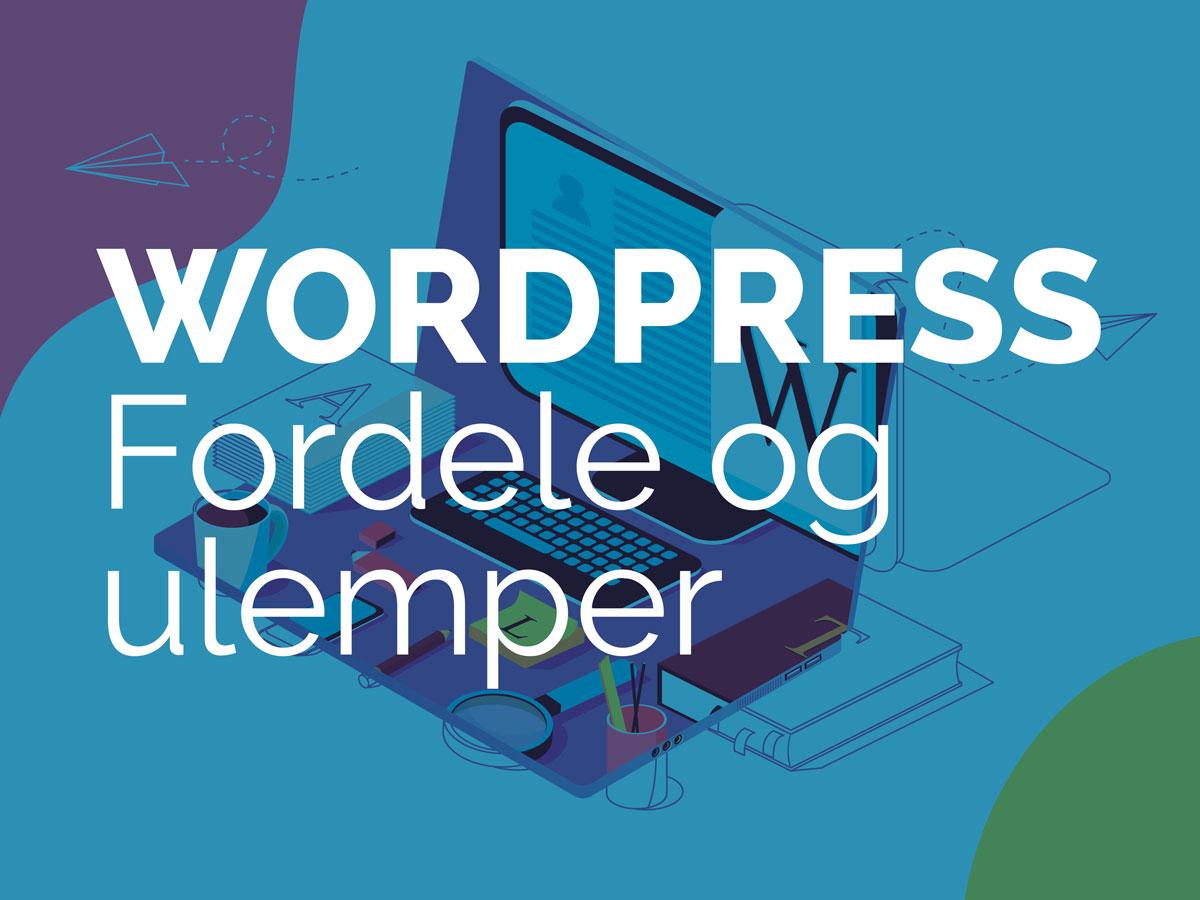 wordpress fordele og ulemper