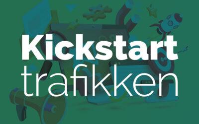 Kickstart trafikken til din hjemmeside